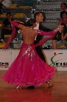 Valerio Colantoni & Sara Di Vaira at Italian Championships 2008