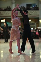 Maksim Aleksandrov & Mariya Svetlichnaya at Blackpool Dance Festival 2019