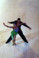 Stefano Di Filippo & Daria Chesnokova at Blackpool Dance Festival 2019