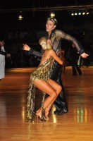Kirill Belorukov & Elvira Skrylnikova at Dutch Open 2008