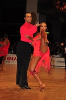 Franco Formica & Oxana Lebedew at WDC World Professional Latin Championships