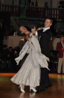 Vladymyr Evgrafov & Yryna Telytsyna at Dutch Open 2008