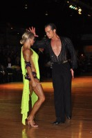 Riccardo Cocchi & Yulia Zagoruychenko at Dutch Open 2008