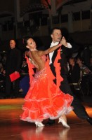 Ruslan Golovashchenko & Olena Golovashchenko at Dutch Open 2008