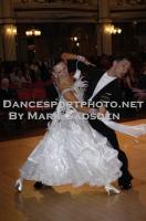 Dusan Dragovic & Ekaterina Romashkina at Blackpool Dance Festival 2010