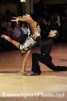 Ilia Borovski & Veronika Klyushina at Blackpool Dance Festival 2009