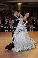 Domen Krapez & Monica Nigro at Blackpool Dance Festival 2009