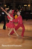 Michael Johnson & Sally Rose Beardall at Blackpool Dance Festival 2009