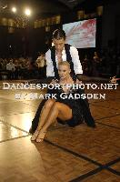 Steven Greenwood & Jessica Dorman at Crown DanceSport Championships