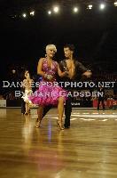 Steven Greenwood & Jessica Dorman at 63rd Australian Dancesport Championship 2009