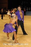Andrew Cuerden & Hanna Haarala at UK Open 2007