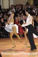 Andrew Cuerden & Hanna Haarala at Blackpool Dance Festival 2008