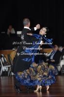 Kevin Keurntjes & Grace Leong at Crown International Dance Championships 2018