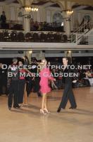 Bruno Alexandre Crisostomo & Rute Marina Ribeiro at Blackpool Dance Festival 2012