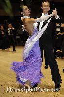 Andrzej Sadecki & Karina Nawrot at UK Open 2007