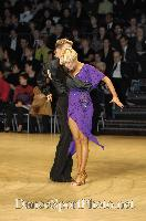 Peter Stokkebroe & Kristina Stokkebroe at UK Open 2007