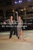 David Barnes & Loren James at Blackpool Dance Festival 2012