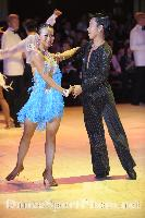 Melvin Tan & Sharon Tan at Blackpool Dance Festival 2008