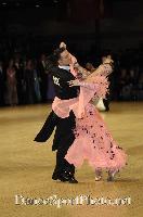 Benedetto Ferruggia & Claudia Köhler at UK Open 2007