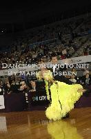 Paolo Bosco & Joanne Clifton at 67th Australian Dancesport Championship