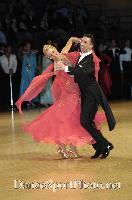 Andrea Ghigiarelli & Sara Andracchio at UK Open 2007
