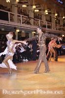 Cedric Meyer & Angelique Meyer at Blackpool Dance Festival 2008