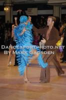 Cedric Meyer & Angelique Meyer at Blackpool Dance Festival 2010