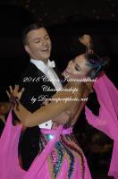 Clayton Young & Phoebe Wardlaw at Crown International Dance Championships 2018
