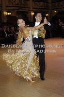 Daniele Gallaro & Kimberly Taylor at Blackpool Dance Festival 2009