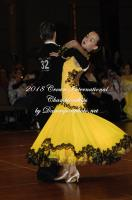 Jarraed South & Saffon South at Crown International Dance Championships 2018