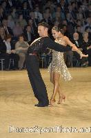 Eugene Katsevman & Maria Manusova at UK Open 2007