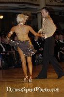 Alex Ivanets & Lisa Bellinger-Ivanets at Blackpool Dance Festival 2007