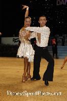Alex Wei Wang & Roxie Jin Chen at UK Open 2007
