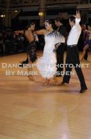 Alex Wei Wang & Roxie Jin Chen at Blackpool Dance Festival 2010