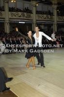 Sergey Sourkov & Agnieszka Melnicka at Blackpool Dance Festival 2012