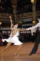 Sergey Sourkov & Agnieszka Melnicka at Blackpool Dance Festival 2010