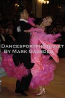 Qing Shui & Yan Yan Ma at Blackpool Dance Festival 2011