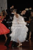 Max Oldham & Sarah Baker at Crown International Dance Championships 2018