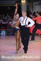 Kamil Studenny & Kateryna Trubina at Blackpool Dance Festival 2008