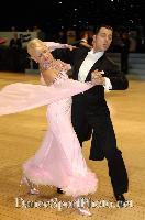 Oscar Pedrinelli & Kamila Brozovska at UK Open 2007