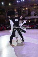 Alex Freyr Gunnarsson & Anna Trenzeleva at Blackpool Dance Festival 2017