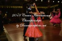 Lachlan Hawkins & Luisa Lekkas at Crown International Dance Championships 2018