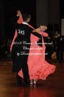 Jordan Saisi & Violeta Brau Mugica at Crown International Dance Championships 2018