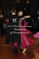 Dominador Ylagan & Wendy Wang at Crown International Dance Championships 2018