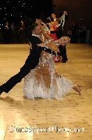 Roberto Villa & Morena Colagreco at UK Open 2007