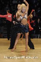 Dorin Frecautanu & Roselina Doneva at UK Open 2007