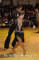 Dorin Frecautanu & Roselina Doneva at Blackpool Dance Festival 2007