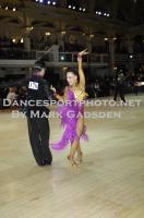 Andrea Silvestri & Martina Váradi at Blackpool Dance Festival 2012