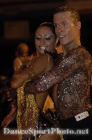 Niels Didden & Gwyneth Van Rijn at Blackpool Dance Festival 2007
