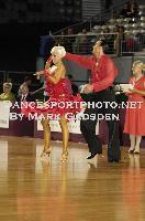 David Byrnes & Karla Gerbes at Australian Open 2010
